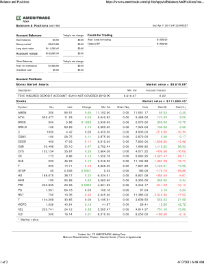 td ameritrade unsettled cash to Download - Editable