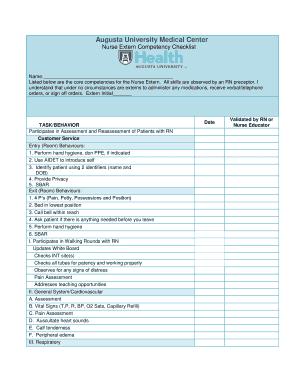 List Of Nursing Skills And Competencies  Resume Nursing Skills