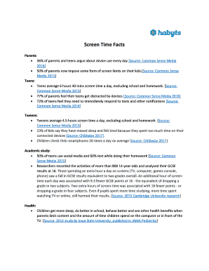 picture about Screen Time Rules Printable identified as Printable display screen period legal guidelines for tweens - Fill Out Obtain