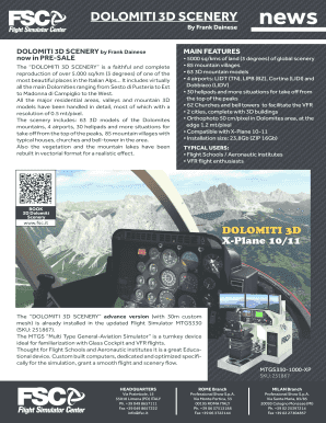 Fillable Online DOLOMITI 3D SCENERY Fax Email Print - PDFfiller