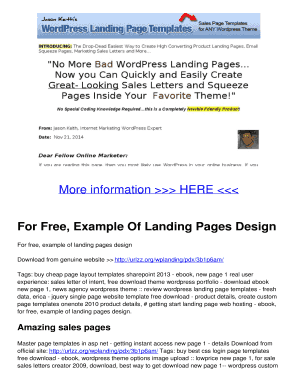 Fillable landing page templates free download in html edit print for free example of landing pages design spiritdancerdesigns Choice Image