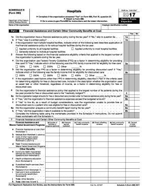 2017 irs h form