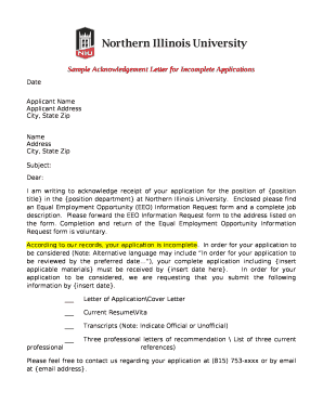 422513927 Sample Acknowledgement Letter In Receipt Of Job Applications on