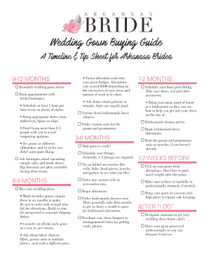 Wedding Gown Buying Guide