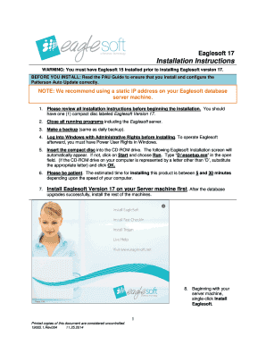 eaglesoft patient registration form in spanish - Edit & Fill Out ...