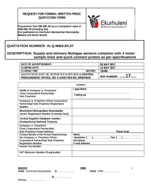 Editable sample tour package quotation - Fill Out & Print Forms