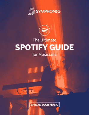 Editable spotify label hub - Fill, Print & Download Online