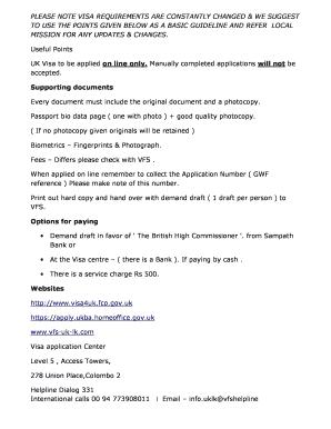 Editable track uk visa application using gwf number - Fill
