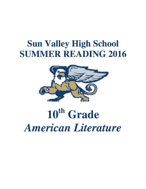 high school reading log pdf - Forms & Document Samples to