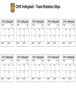 photograph regarding Volleyball Rotation Sheet Printable referred to as Publish volleyball libero rotation Kind Templates On-line in just