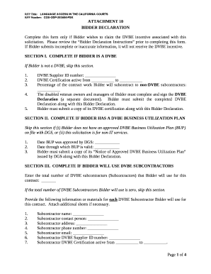 complete tax declaration form online
