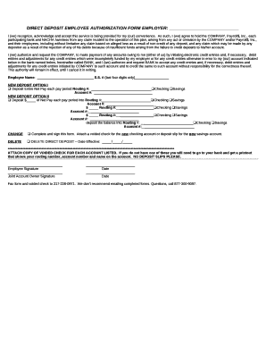 employee authorization form