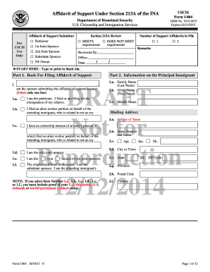 Printable I 864a Form Fill Out Download Top Forms In Pdf