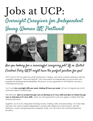 independent caregiver jobs Edit Fill Out Print Download Online