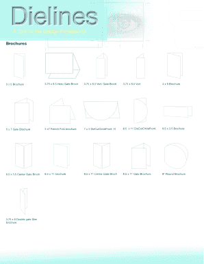 french fold brochure - Edit, Fill Out, Print & Download