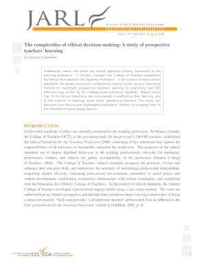 Fundamentals of research paper scientific method