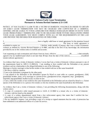 Pursuant to Arizona Revised Statutes 33-1318 Doc Template | PDFfiller