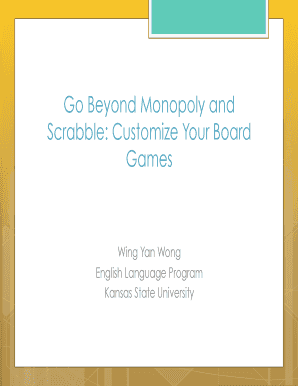 Monopoly Board Template Powerpoint Go Beyond And