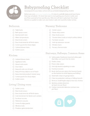 image about Baby Checklist Printable called Fillable arranging for youngster list printable - Edit