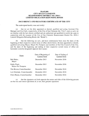 Printable certificate of incumbency trust edit fill out for Certificate of incumbency template free