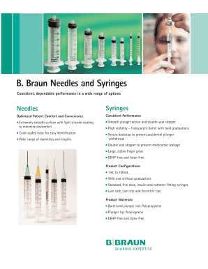 Fillable Online Service Plans - B  Braun Medical Inc  Fax Email