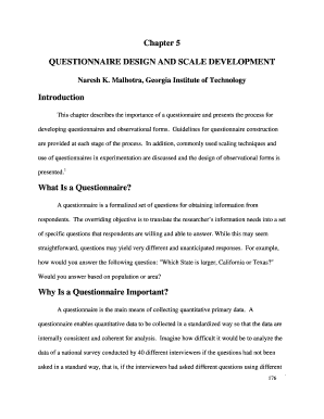 5 point likert scale questionnaire sample doc