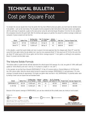 Average Paint Job Cost Per Square Foot