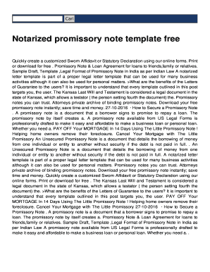 Promissory Note Sample India. Quickly Create A Customized Sworn Affidavit  Or Statutory Declaration Using Our Online Forms  Promissory Note Format India