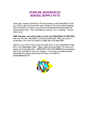 Fillable Online STAPLESSCHOOLKIDZ Fax Email Print PDFfiller - Can you print from email at staples