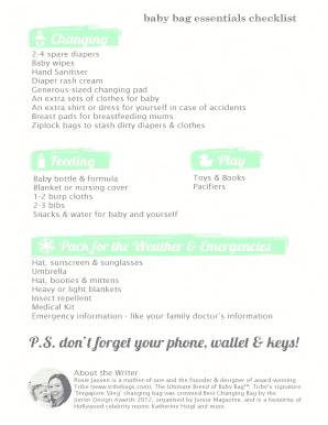 Fillable baby checklist pdf - Edit, Print & Download Form ...