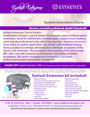 the eyelash extension professional training manual pdf