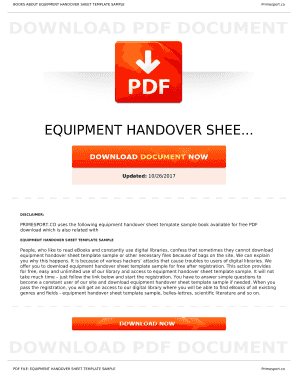 Editable handover of company property sample letter samples to books about equipment handover sheet template sample thecheapjerseys Image collections