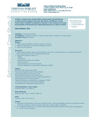 Printable schizophrenia case study pdf Templates to Submit