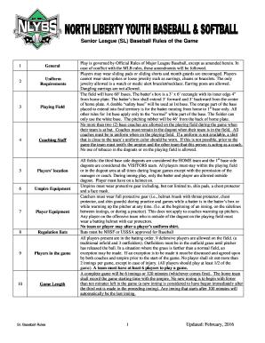Get mlb umpire gear PDF Form Samples to Fill Online
