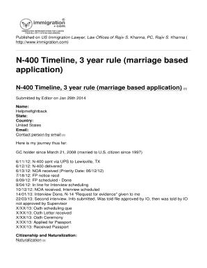 Printable marriage based green card processing timeline Form to