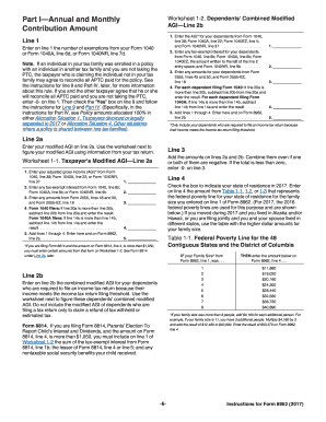 2017 Form IRS 8962 Fill Online, Printable, Fillable, Blank ...