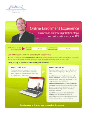 john hancock 401k login - Forms & Document Templates to ...
