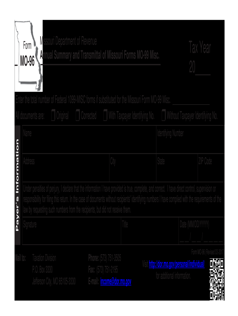 1099 form missouri  8-8 Form MO DoR MO-8 Fill Online, Printable, Fillable ...