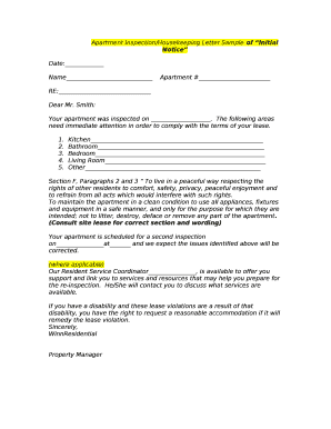 426260487 Community Letter Templates About Maintenance Inspections on