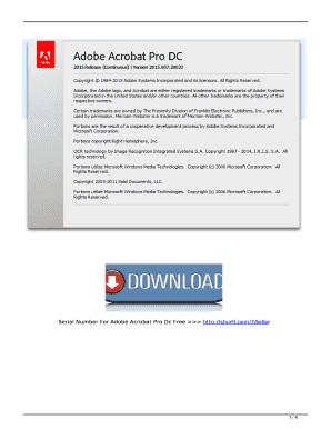 Editable adobe acrobat pro dc 2017 crack Form Samples Online