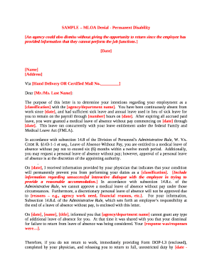Fillable job reclassification letter sample - Download