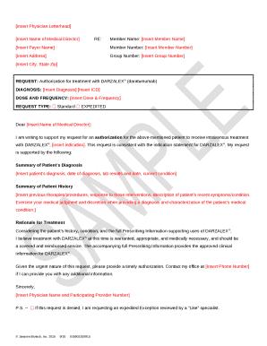 STELARA Sample Letter of Medical Necessity - Janssen CarePath Doc