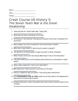 crash course seven years war