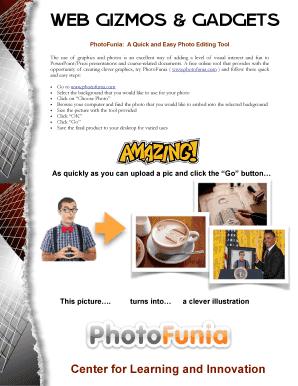 Editable photofunia Templates to Complete Online