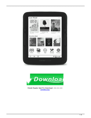 Fillable Online Ebook Reader Apk Pro Download --- Fax Email