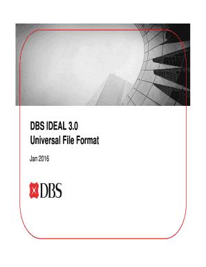Dbs ideal login