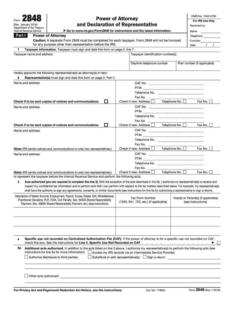 power of attorney form 2848 instructions  17-17 Form IRS 17 Fill Online, Printable, Fillable ...