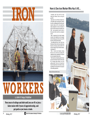 Fillable Online Here Is One Iron Worker Who Has It All Fax Email Print Pdffiller
