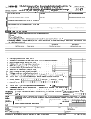 2018 Form Irs 1040 Ss Fill Online Printable Fillable Blank
