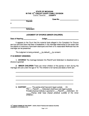 Example of a divorce motion document in michigan fill online example of a divorce motion document in michigan solutioingenieria Gallery